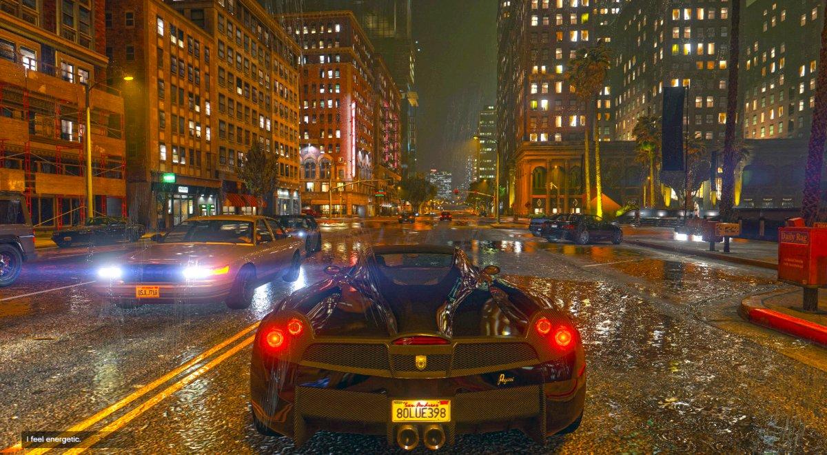 GTA 5 NaturalVision mód