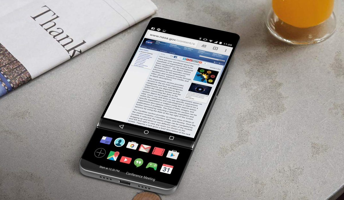 LGG V30 koncept