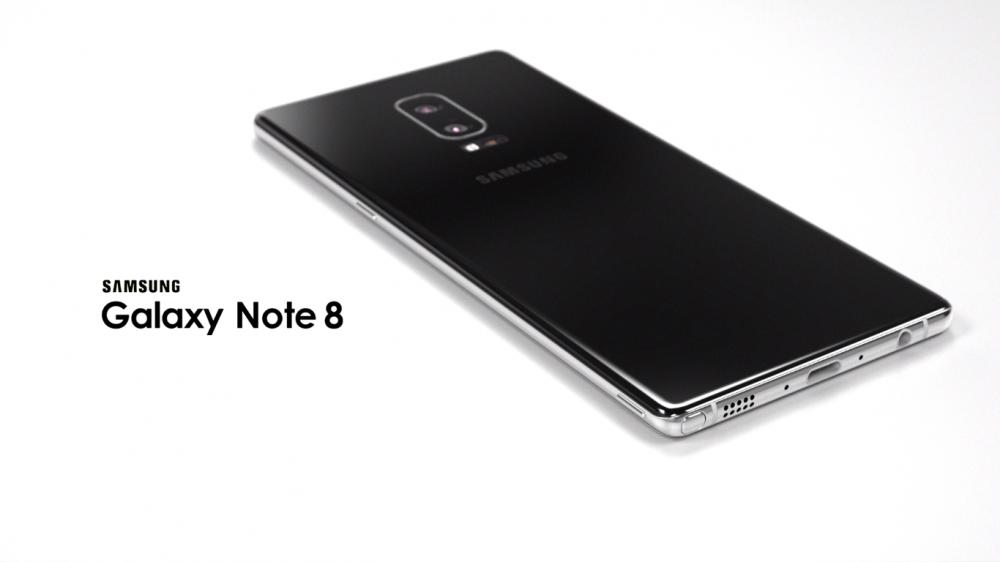 Samsung Galaxy Note 8 koncept