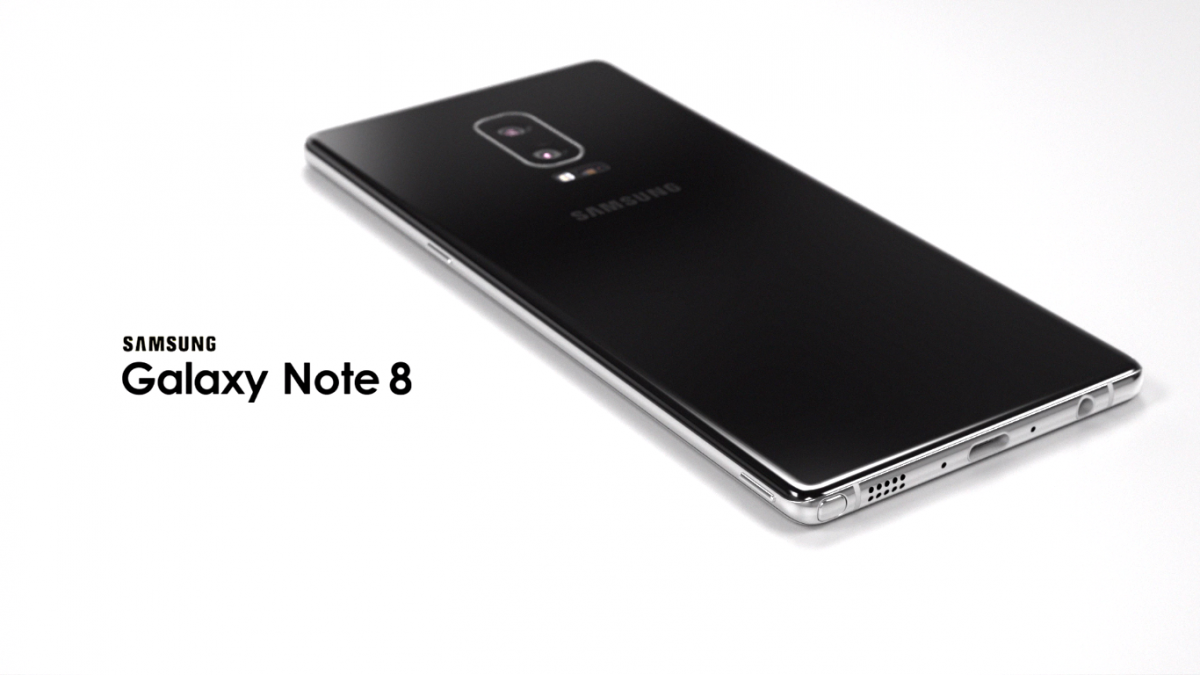 Samsung Galaxy Note 8 koncept