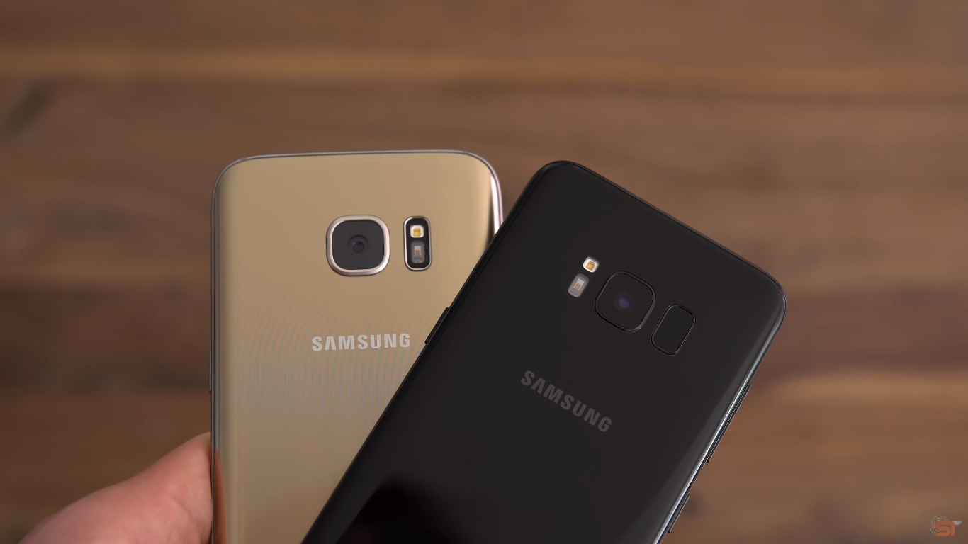 Galaxy S7 vs. Galaxy S8