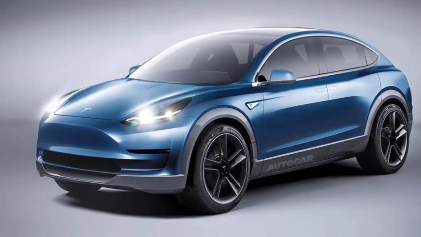 Tesla Model Y koncept