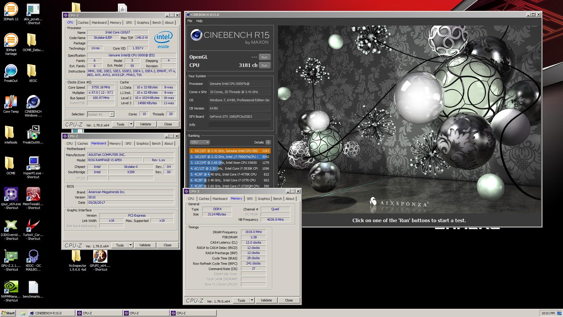 Core i9 7900X OC