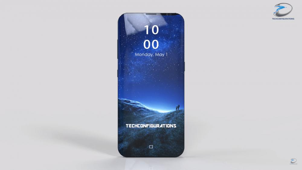Samsung Galaxy S9 koncept