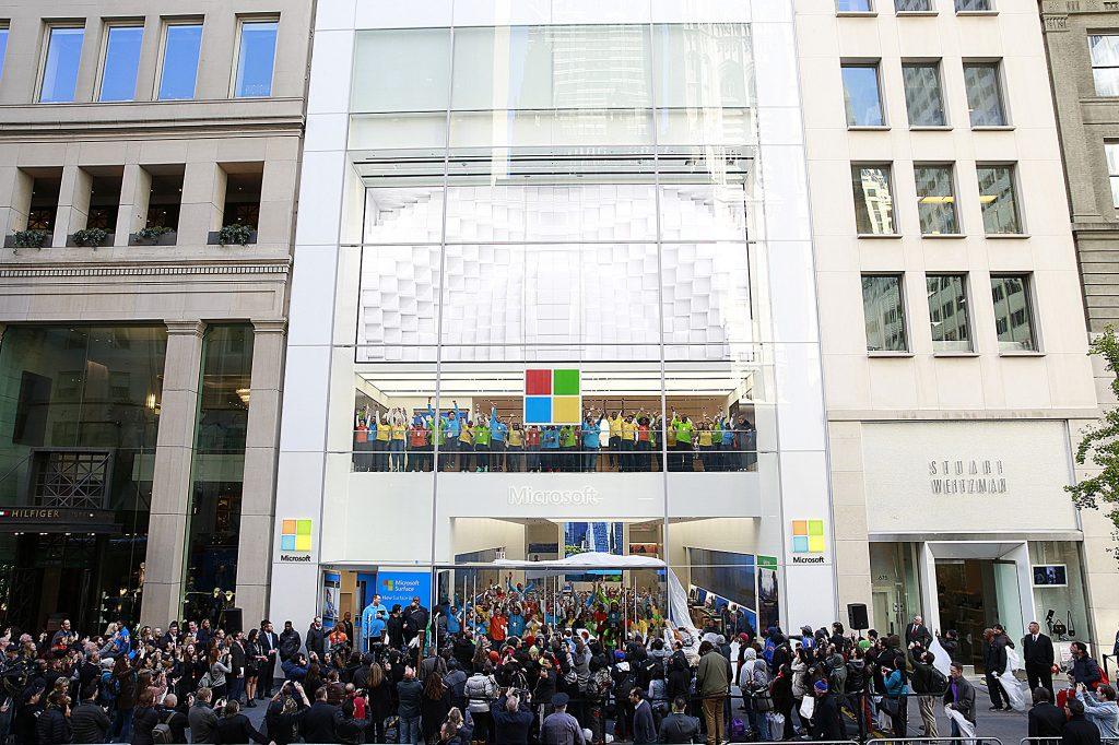 oficiálny obchod Microsoftu v New Yorku
