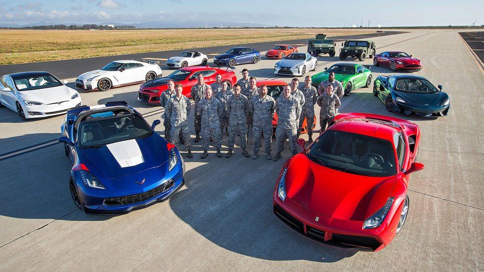preteky najrýchlejších áut na svete