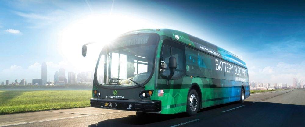 Proterra elektrický autobus