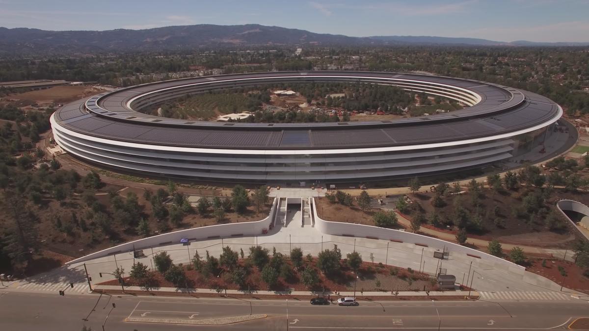 nové sídlo Apple, hlavná budova