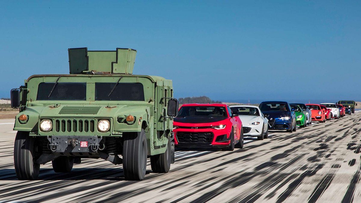 preteky najrýchlejších áut sveta