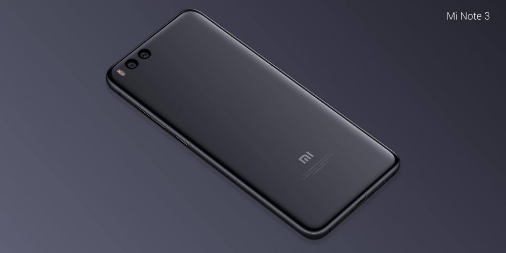 Xiaomi Mi Note 3