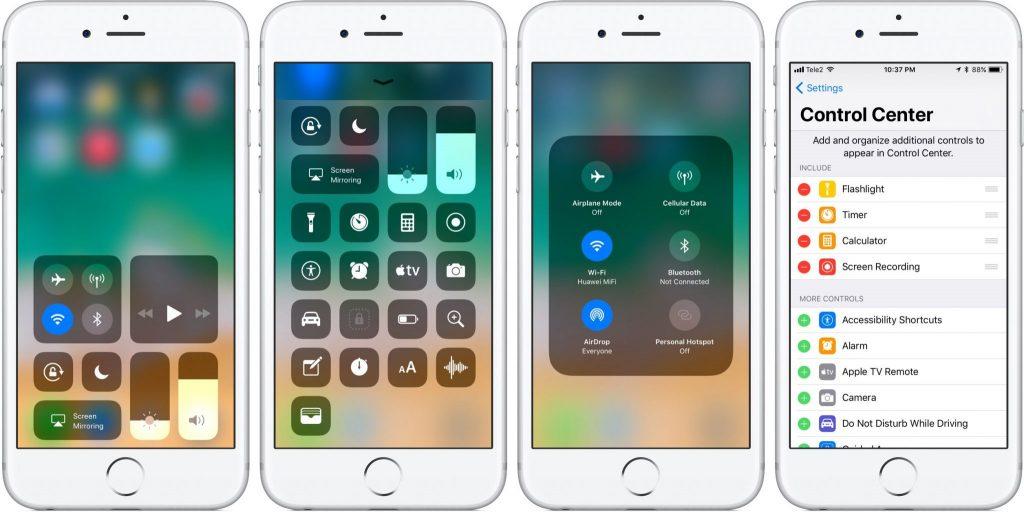 operačný systéme iOS 11