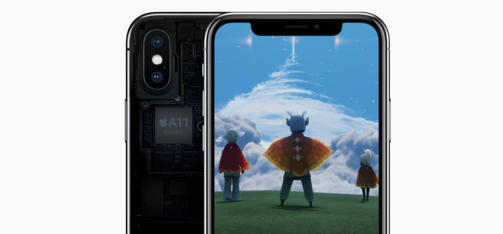 Apple iPhone X a čip Bionic A11