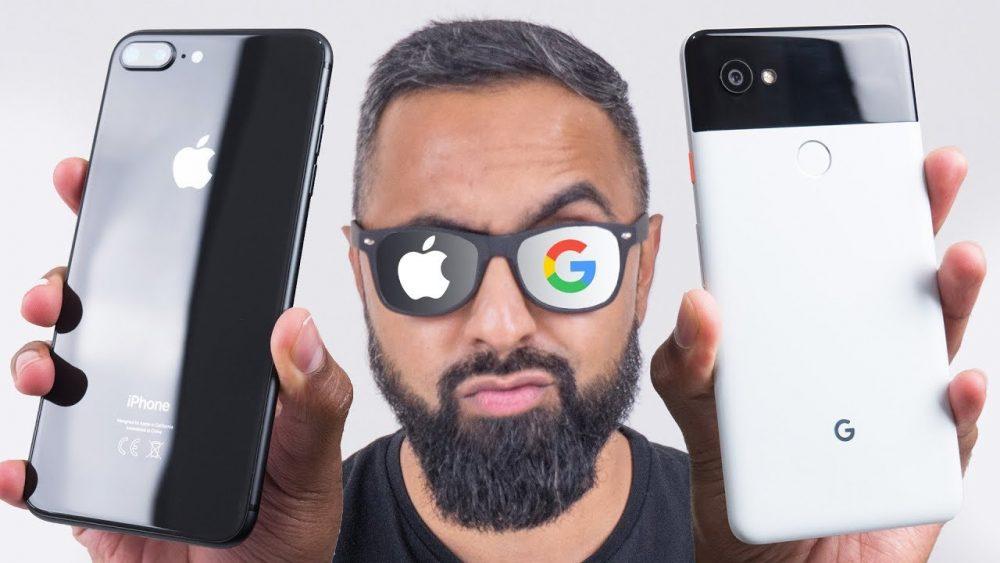 iphone 8 plus vs pixel 2 xl