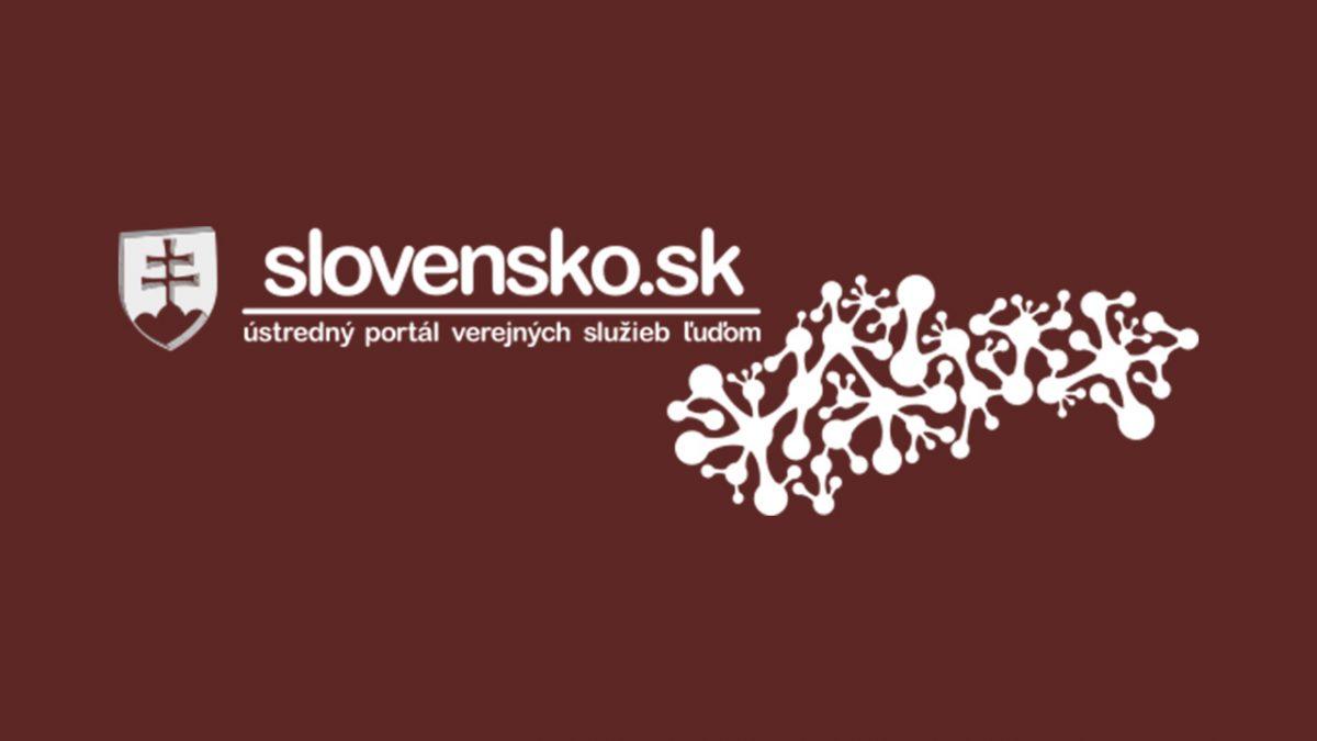 slovensko elektronická schránka