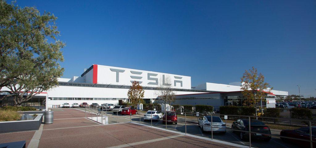 továreň Tesla