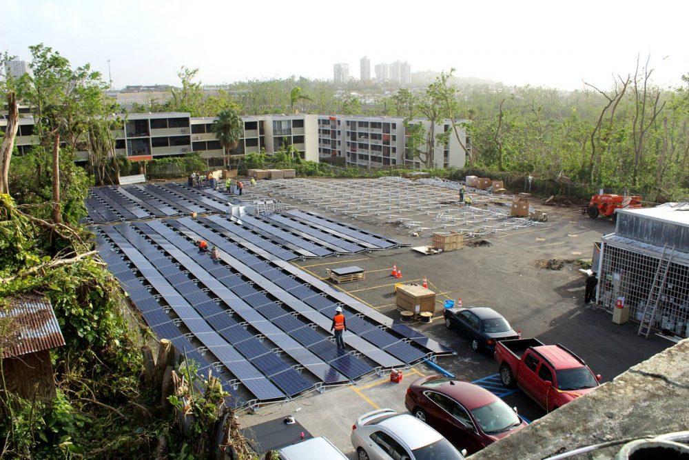 solárna elektráreň Tesla v Portoriku