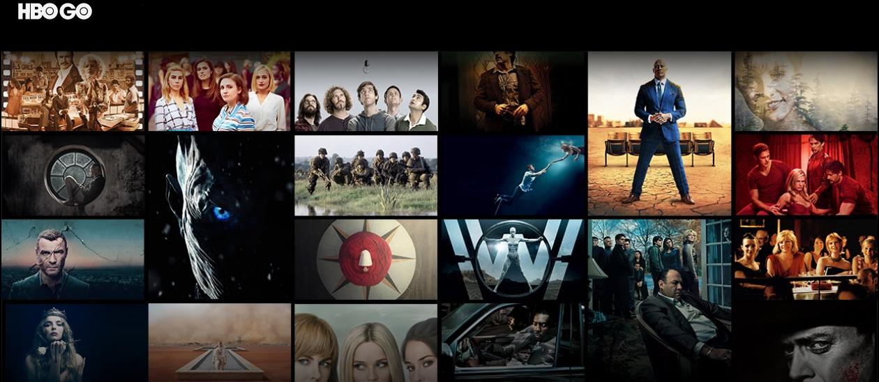 videopožičovňa HBO Go