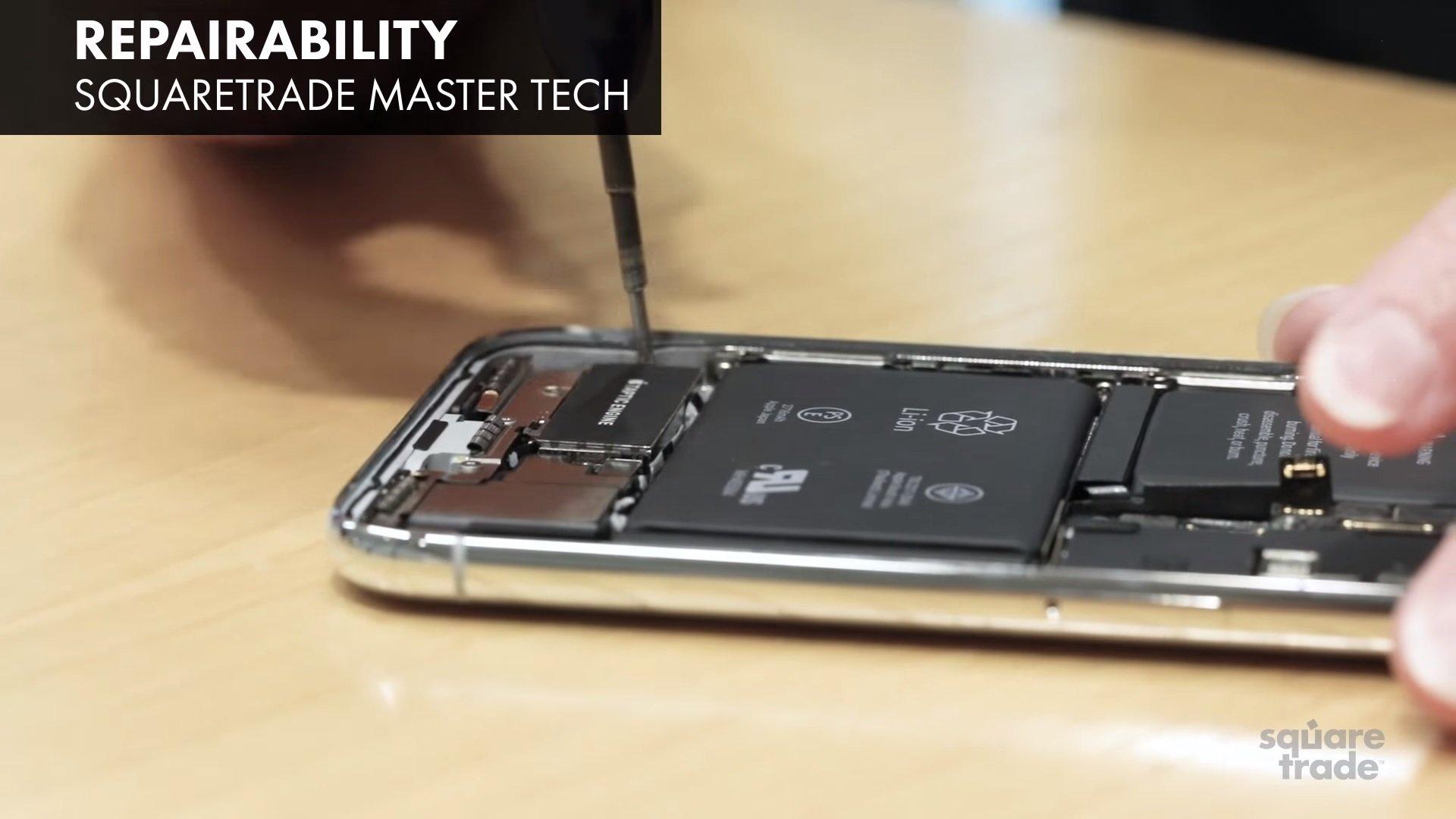 iPhone X odolnosť
