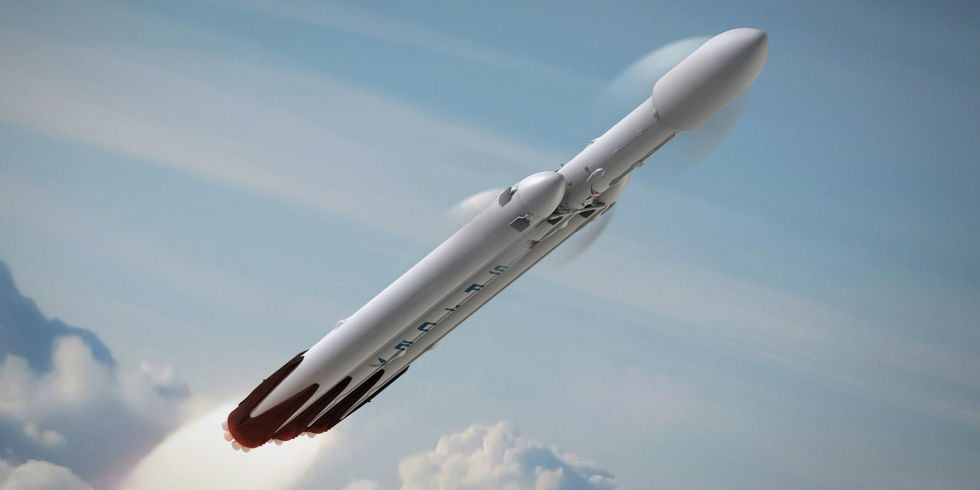 raketa Falcon Heavy