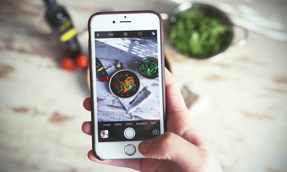 iPhone food