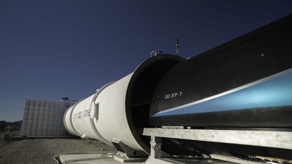 pod XP-1 od Virgin Hyperloop One
