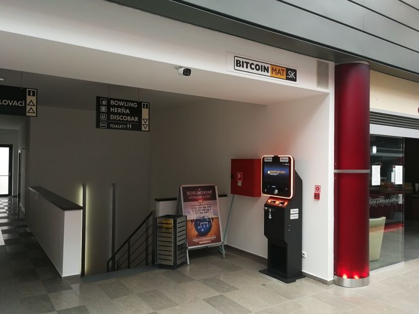 automat na Bitcoiny