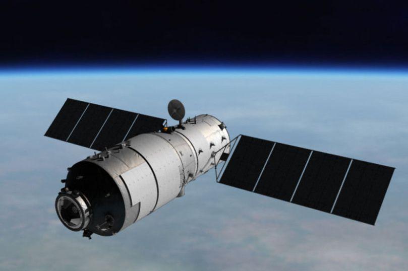 čínska vesmirna stanica sa rozpadla v atmosfére