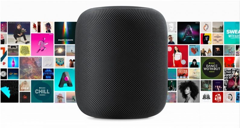 Apple HomePod vlastnosti