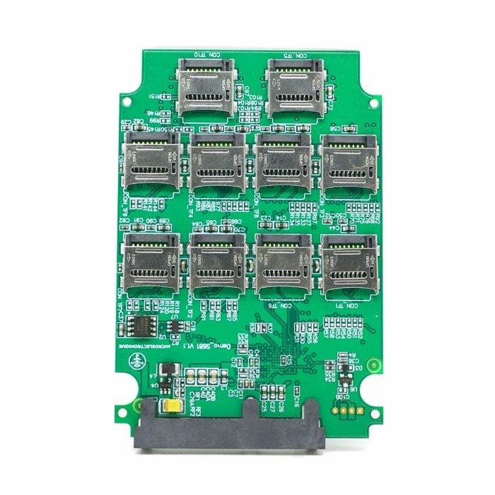 microSD adapter na SSD disk