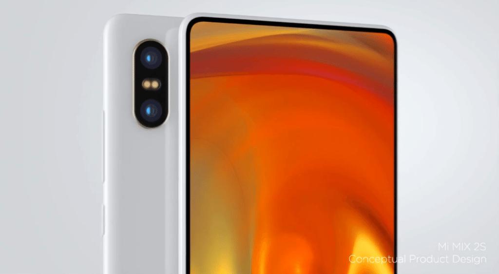 koncept Xiaomi Mi MIX 2S