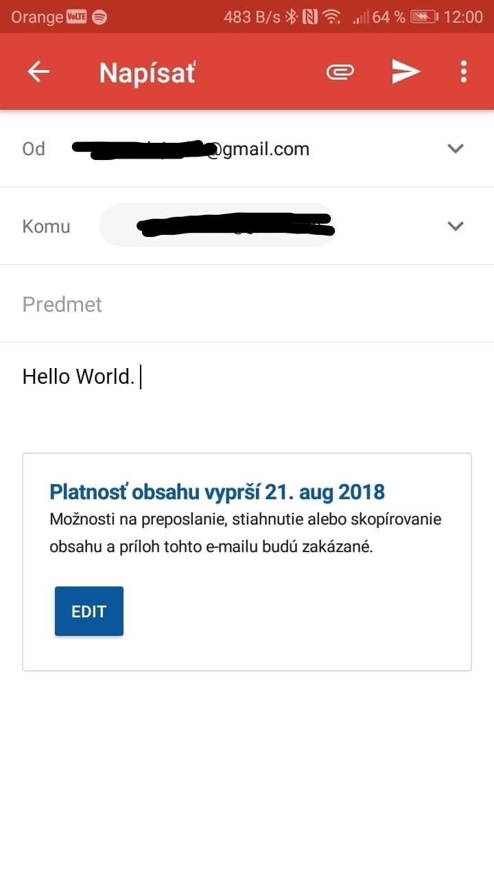 dôverný režim gmail