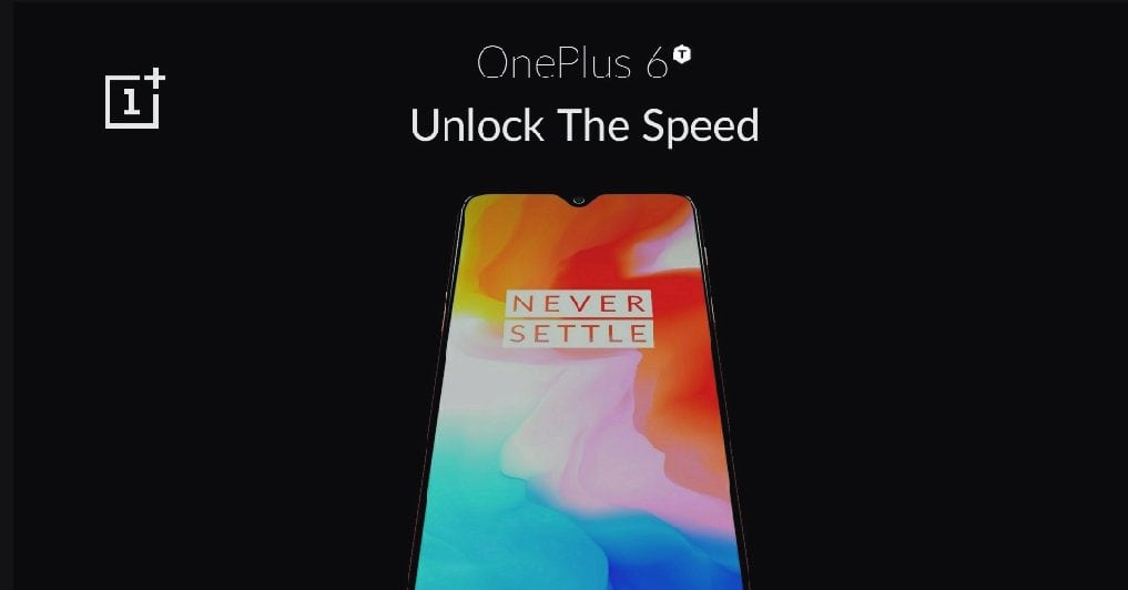 OnePlus 6T teaser
