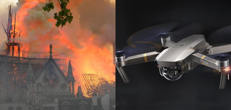 Za záchranu Notre-Dame vďačíme aj dronom DJI. Zohrali dôležitú úlohu