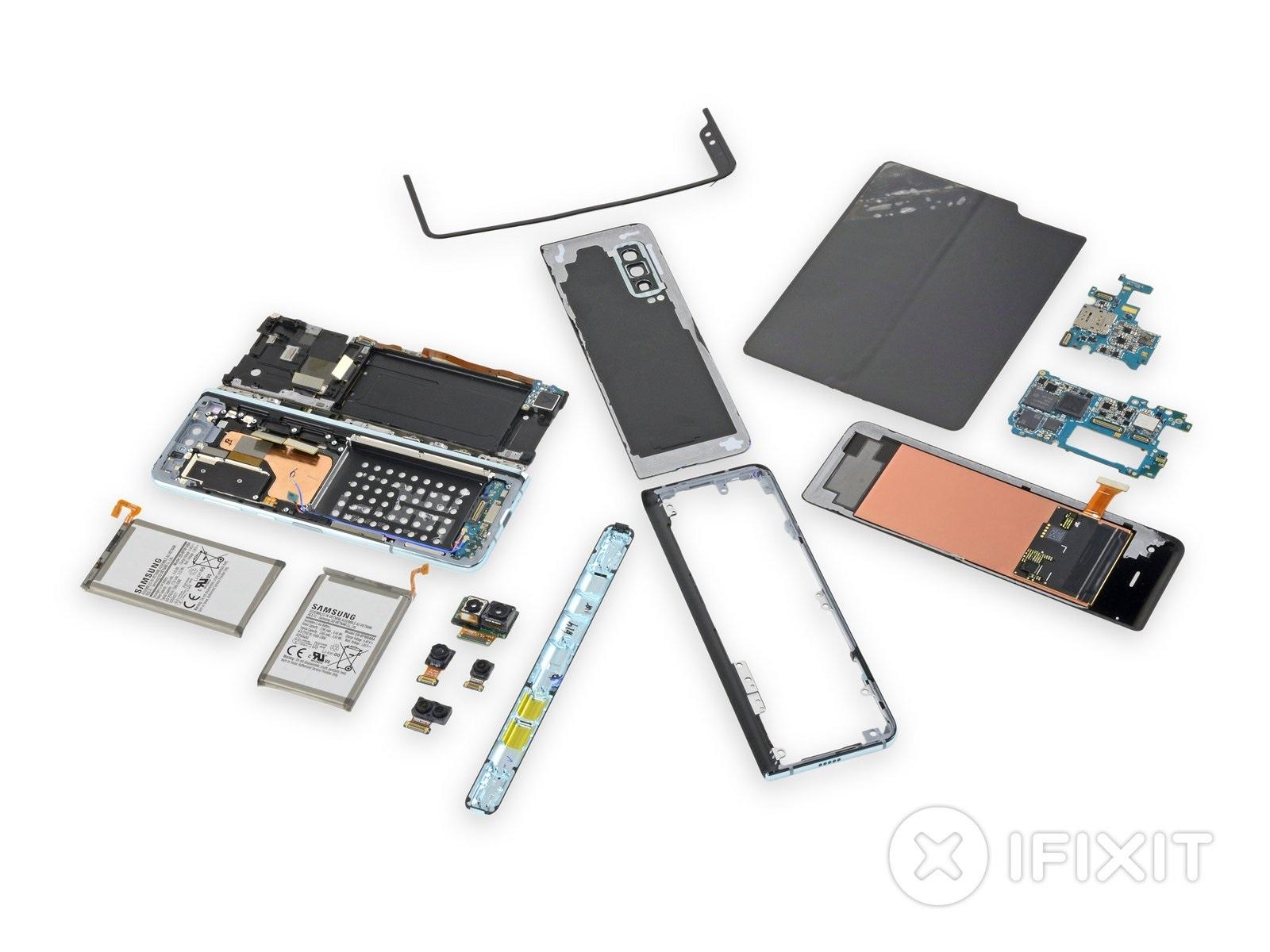 Rozobratie Samsung Galaxy Fold odhalilo vážne konštrukčné nedostatky, ktoré mohli spôsobiť škandál
