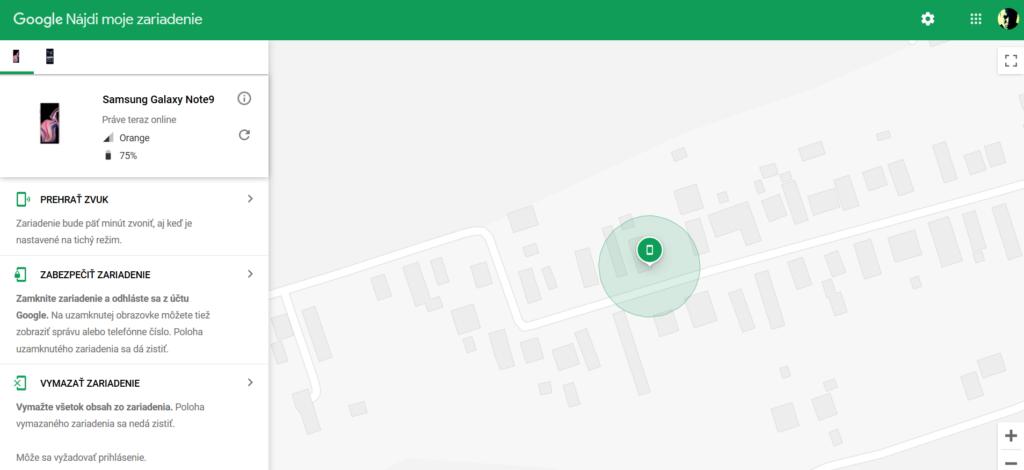 strata smartfónu s Androidom