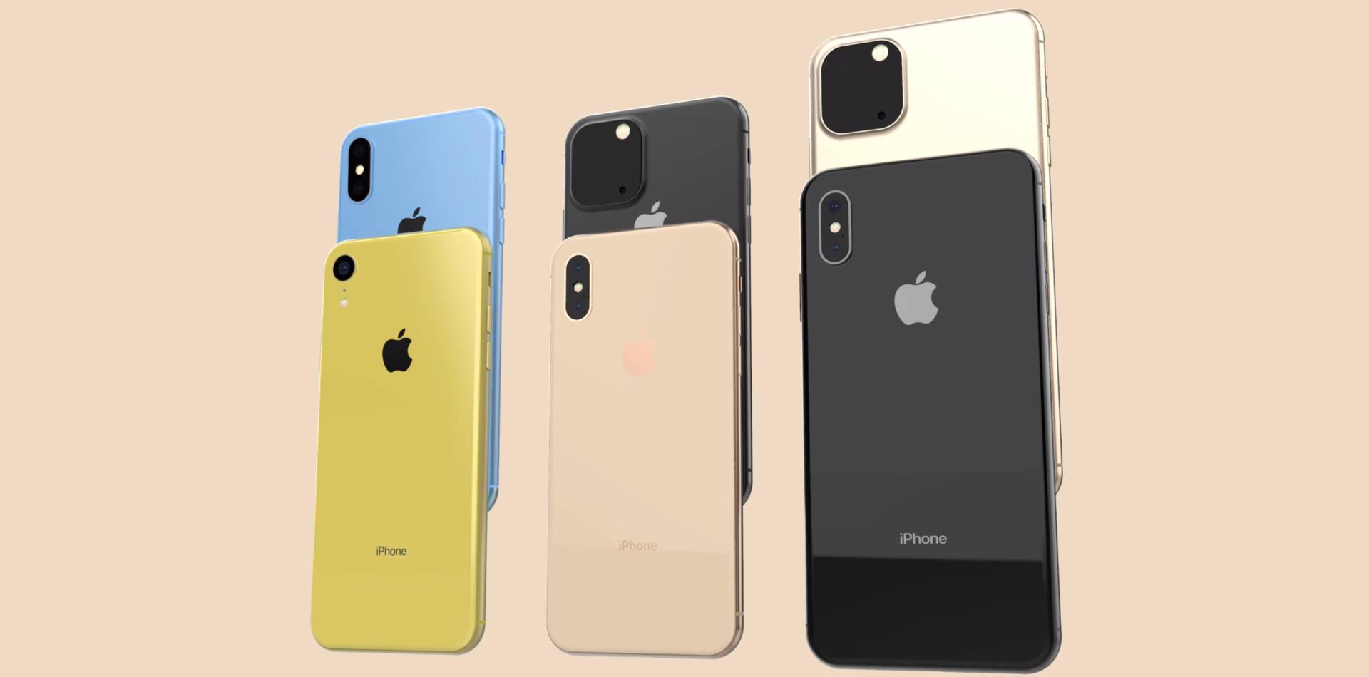 Nové iPhony v roku 2019 nechtiac potvrdené Applom