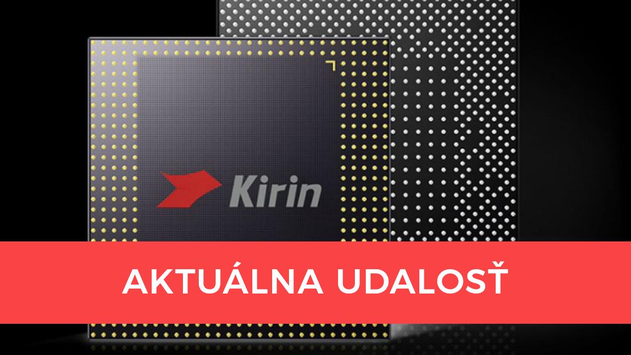Nie každá spoločnosť sa otočila Huawei chrbtom: Zachránia aj výkonné procesory Kirin