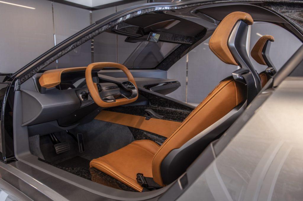 Karma predstavila koncept elektrického vozidla