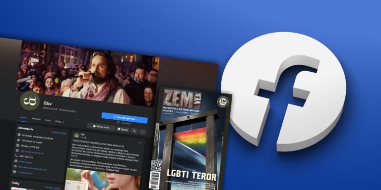 Facebook oficiálne potvrdil, že vymazal aj druhú stránku Zem a Vek. Kvôli čomu?