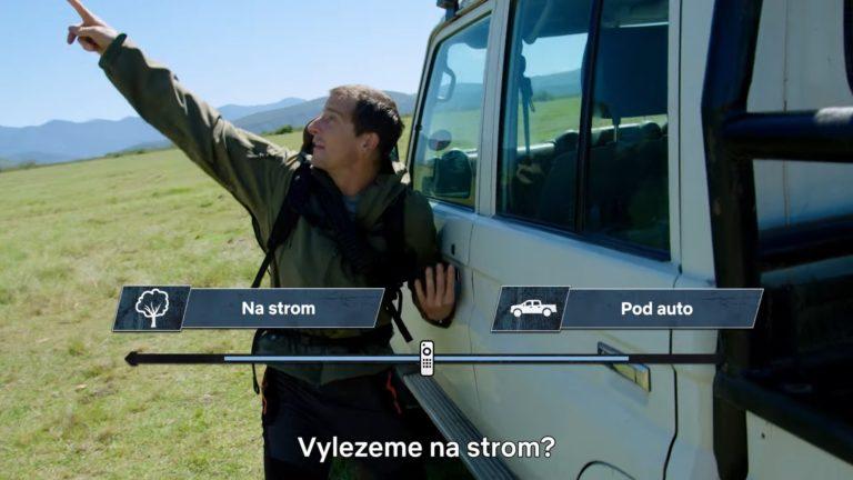 Na Netflixe budeme opäť rozhodovať za Beara Gryllsa v divočine. Kedy vyjde nová interaktívna časť?