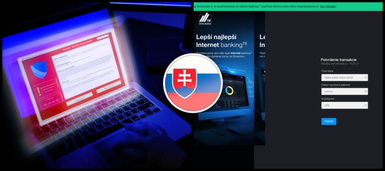 Hackeri šíria podvod na Slovensku v mene Tatra banky. Kradnú údaje o kreditnej karte