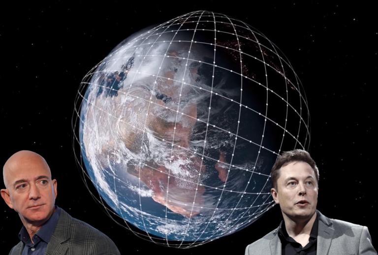 Jeff Bezos chce zničiť satelity Starlink, tvrdí Musk. Kto z nich je skutočne vinný a prečo majú o vesmír taký záujem?