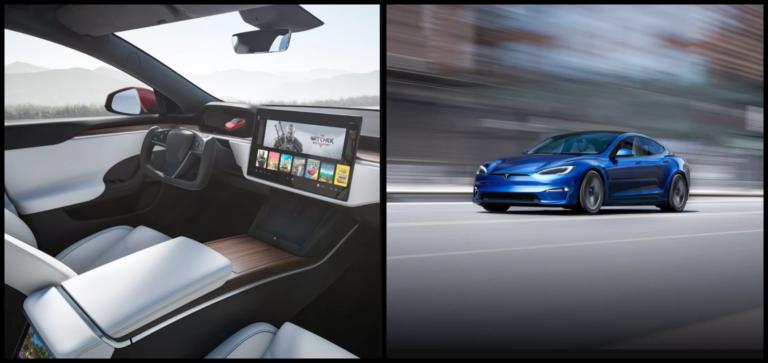 Po 8 rokoch je tu nová Tesla Model S. Dojazd vyše 800 km a interiér ako z vesmírnej lode