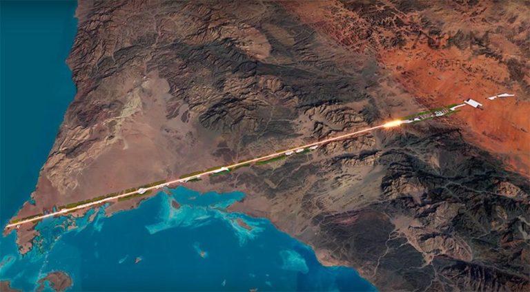 170 km dlhé, na povrchu len zeleň a autonómne autá. V Saudskej Arábii vyrastie technologicky najvyspelejšie mesto sveta