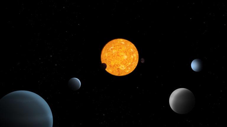 Unikátny vesmírny systém. 6 planét krúži okolo svojej hviezdy kurióznym spôsobom