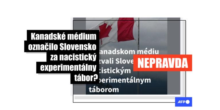 """Slovensko nie je """"nacistický experimentálny tábor"""". Vyše 10 000 ľudí na Facebooku zdieľalo dezinformácie zo zahraničia"""