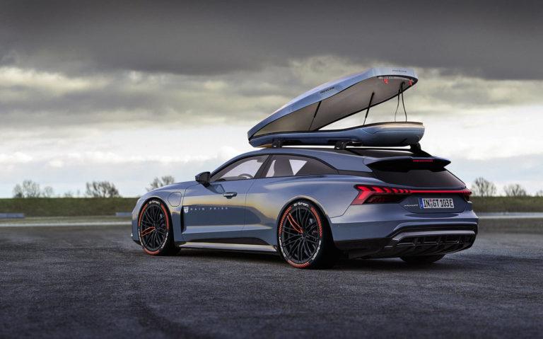 Audi e-tron GT ako