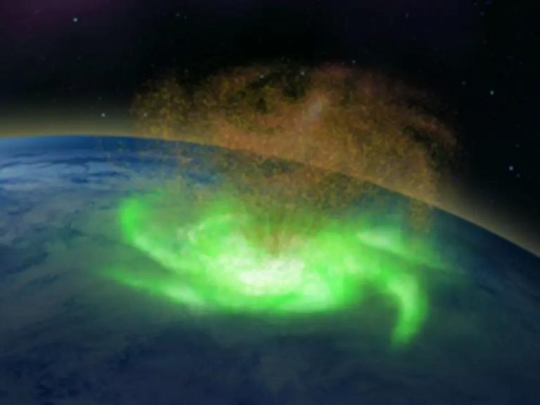 Existencia vesmírnych hurikánov definitívne potvrdená. Jeden bol nad severným pólom