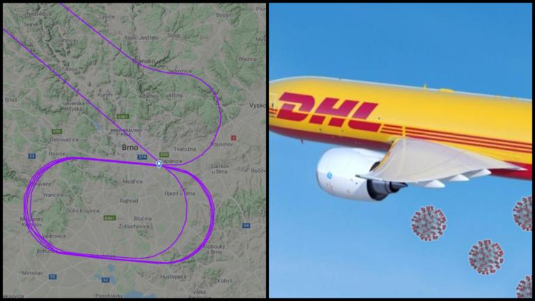 """Český politik """"zbúral internet"""". Lietadlo DHL v Česku roznášalo COVID-19. Pravda je oveľa prostejšia"""