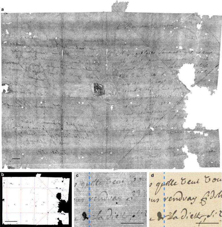 300 rokov zapečatené listy sú odhalené. Vedci vyvinuli virtuálny spôsob, ako ich prečítať bez potreby otvorenia